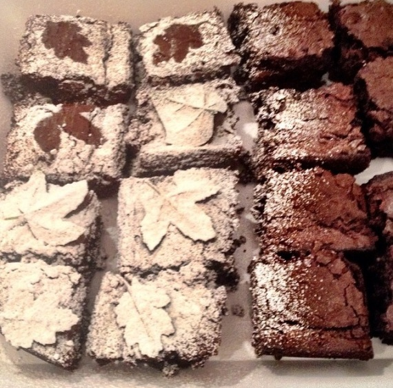 Autumn Brownies