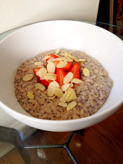 Chia Steel Cut Oatmeal