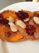 Cranberry Almond Sweet Potatoes