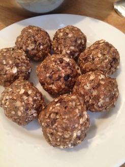 Peanut Butter Cacao Nib Balls