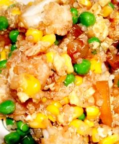Vegetable Quinoa Fried Rice