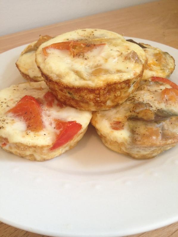 Veggie Egg White Muffins