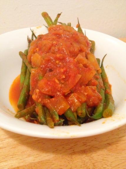 Greek Stewed String Beans