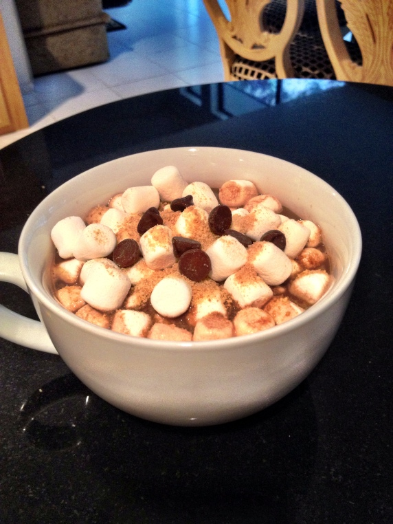 Dairy-free S'Mores Hot Chocolate