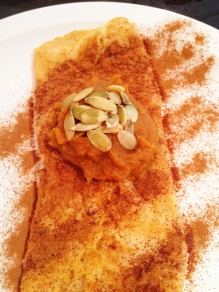 Flourless Sweet Potato Crepe
