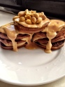 Chocolate Peanut Butter Pancakes