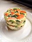 Sweet Potato Broccoli Rabe Baked Eggs