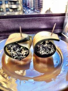 Creamy Spinach Zucchini Roll Ups