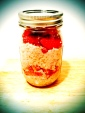 Sweet Strawberry Oat Jar