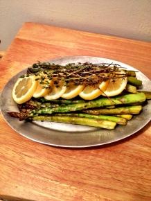 Lemon Thyme Asparagus