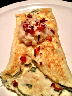 Loaded Baked Potato Crepe