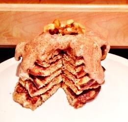 Flourless Chai Pancakes