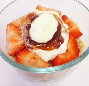 Berries & Cream Oatmeal