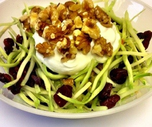 Cranberry Walnut Broccoli Slaw