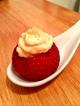 Maple Cheesecake Stuffed Strawberries