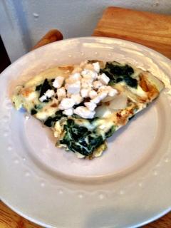 Greek Feta Omelet