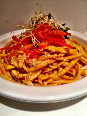 Spicy Thai Squash Noodles