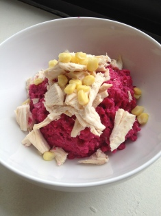 Cauliflower & Beet Mash