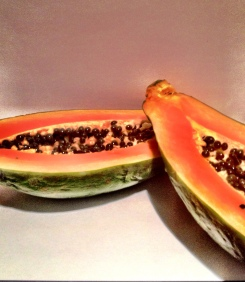 Breakfast Papaya