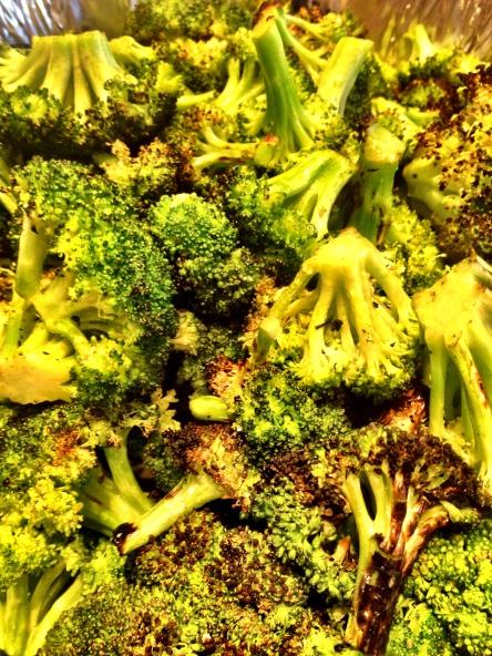 Grilled Burnt Broccili