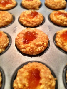 Mini Peanut Butter & Jelly Muffins