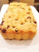 Chocolate Chip Coconut Loaf Cake